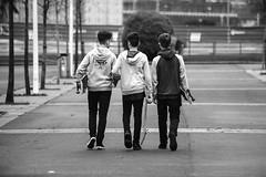 Bilbao. 2016. (Jose_Pérez) Tags: bilbao blancoynegro blackandwhite skate amigos friends deporte hobby byn bw urban street stretphoto city sport