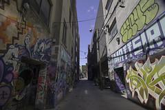 Graffiti Alley (aerojad) Tags: eos canon 80d dslr 2017 city urban art artinpublicplaces streetart publicart mural murals graffiti vacation travel wanderlust graffitialley toronto canada vibrant colorful
