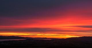 Sunset Buncrana {Explored}