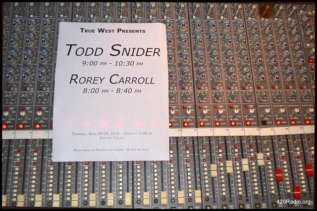 Rorey Carroll - Aladdin Theater, Portland, OR - 04/29/16