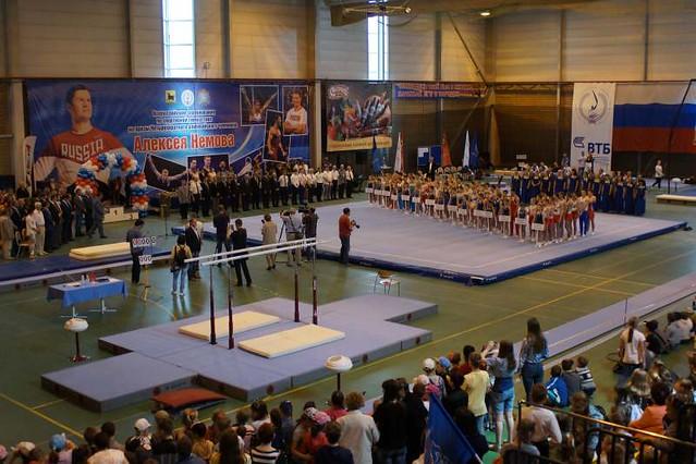 Молодые гимнасты изПензы взяли 5 наград навсероссийских соревнованиях