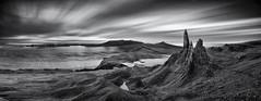 Storr (Grant Morris) Tags: storr oldmanofstorr isleofskye skye scotland monochrome mono blackandwhite bw longexposure hillside hills landscape grantmorris grantmorrisphotography canon