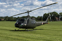 Bell UH-1H Iroquois - 1 (NickJ 1972) Tags: shuttleworth collection oldwarden fly navy airshow 2017 aviation bell uh1 huey iroquois ghuey 560 ae413