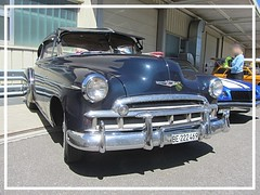 Chevrolet Fleetline DeLuxe 2door Sedan, 1949 (v8dub) Tags: chevrolet fleetline de luxe 2 door sedan 1949 chevy schweiz suisse switzerland bleienbach american gm pkw voiture car wagen worldcars auto automobile automotive old oldtimer oldcar klassik classic collector
