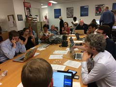 "Phone bank for Jon Ossoff for Congress • <a style=""font-size:0.8em;"" href=""http://www.flickr.com/photos/117301827@N08/35026183120/"" target=""_blank"">View on Flickr</a>"