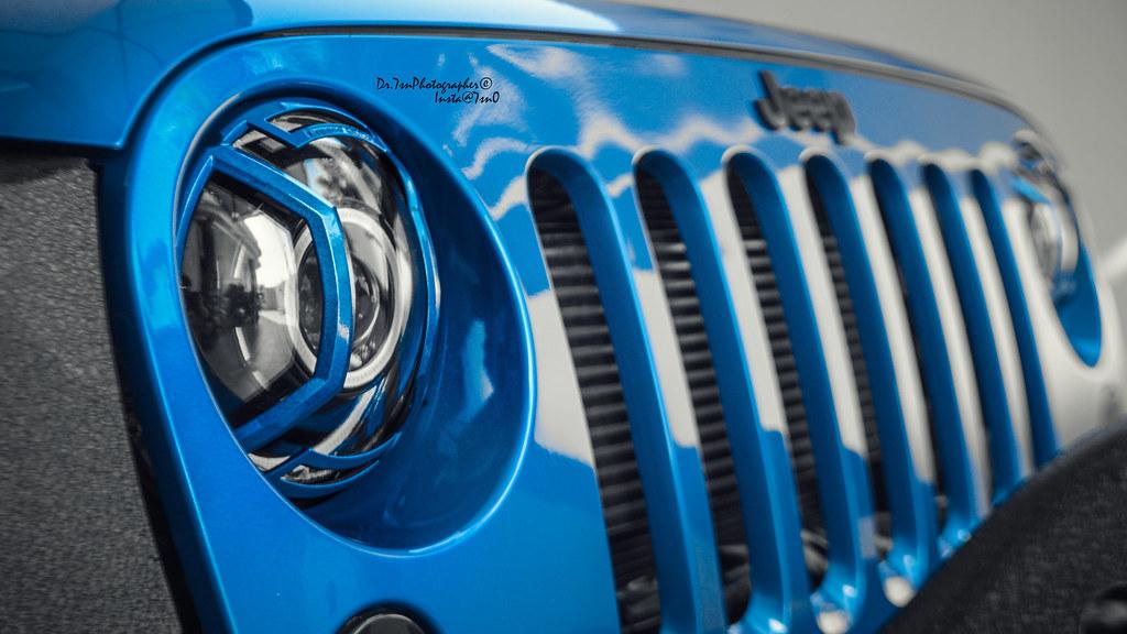 Hydra Blue Jeep 2014 Wrangler Autos Post