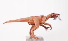 Baryonyx walkeri (adam tran) Tags: origami dinosaurs