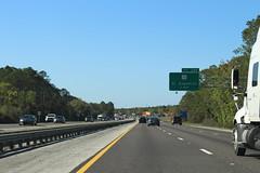 Florida I95nb Exit 298 1 mile (MJRGoblin) Tags: usroute1 flaglercounty 2017 interstate95 palmcoast florida
