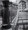 Camara Estenopeica (Pinhole Camera) (Black and White Fine Art) Tags: aristaedu400 pinhole4214x214 pinhole03mm niksilverefexpro2 lightroom3 escalera stairs camaraestenopeica pinholescamera sanjuan oldsanjuan puertorico bn bw