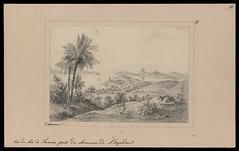 Vue de Rio de Janeiro prise du Sommet de l'Aqueduc (BNDigital) Tags: slaves escravos brasil colonial