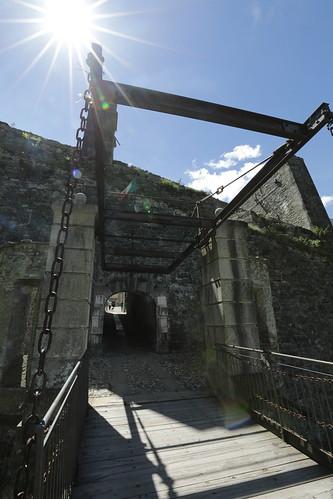 Accesso al forte