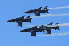20170609-204234-Canon-EOS-6D-IMG_10161 (Mandibela) Tags: kaivariairshow kaivari2017 kaivopuisto helsinki air show 20170609 09062017 myhelsinki kaivopuiston lentonäytös baesystemshawk bae hawk midnighthawks tikkakoski areobatics faf finnishairforce ilmavoimat 2017 diamond night formation flying mk51 airshow aerobatics