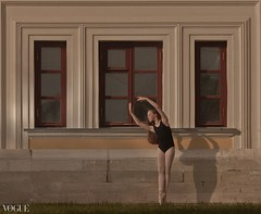 Under a spell {2} (dewframe) Tags: dance girl ballet emotive dramatic mood feelings outdoor young teen