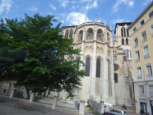 Quai Romain-Rolland, Vieux Lyon - Lyon Cathedral