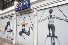 Chaise Fitness (UrbanphotoZ) Tags: chaisefitness billboard man women spandex exercise toned fit buildyourstrongself bench cords eastside lexingtonave manhattan newyorkcity newyork nyc ny