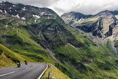 The road to the Großglockner (Nir Roitman) Tags: landscape nature mountains mountain travel clouds cloud cloudscape sky skyscape europe austria grossglockner high alpine road motorbike motorcycle