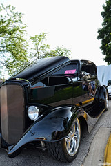1932 Ford (Chad Horwedel) Tags: 1932ford ford classic car black custom morriscruisenight morris illinois