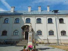 belarus (vandrouki) Tags: belarus architecture statue building spiritual monastery беларусь івянец касцёл