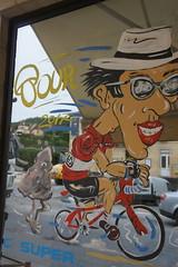 Tour de France window 1 (notFlunky) Tags: dordogne france lot aquitaine holiday south west la vezier sarlat montignac