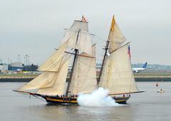 S/V Pride of Baltimore II (jelpics) Tags: treeoflife schooner svtreeoflife sail tallship sailboston boat boston bostonharbor bostonma harbor massachusetts ocean port sea ship vessel