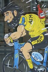 Tour de France window 2 (notFlunky) Tags: dordogne france lot aquitaine holiday south west la vezier sarlat montignac