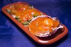 Restaurante La Muralla - Zamburiña con salsa de vieira