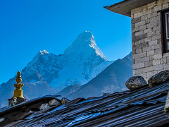 Tengboche (DHWahl) Tags: nepal mt ecverest base camp trek ama dablam tengboche
