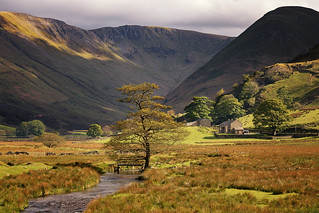 Late Afternoon Sun at Martindale, Lake District