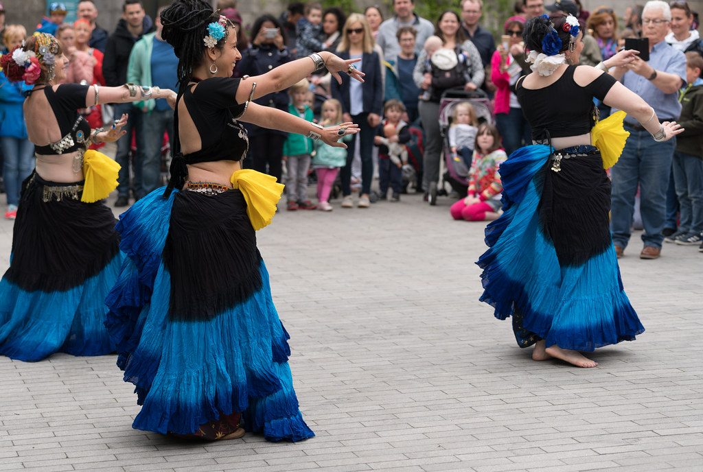 The Zoryanna Dance Troupe Tribal Belly Dancing [Africa Day 2017 Dublin]-129054