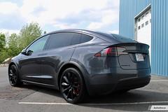 Tesla Model X: Chrome Delete + Full Front End Custom PPF