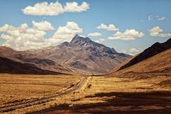 ...through the Andes (ThomasMueller.Photography) Tags: eisenbahn pampa peru anden andes berge blauerhimmel bluesky landscape landschaft mountains railway southamerica südamerika puno per