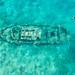 Tugboat beach wreck