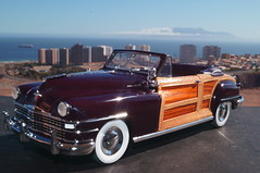 1948 Chrysler Town & Country convertible diecast 1:24 made by Danbury Mint (rigavimon) Tags: diecast miniaturas 124 chrysler towncountry 1948 antofagasta