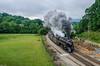 J 611 at Blue Ridge, VA. (i nikon) Tags: nw j 611 blue ridge steam mountain railroading va