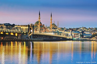 Sunrise Istanbul Galata Bridge
