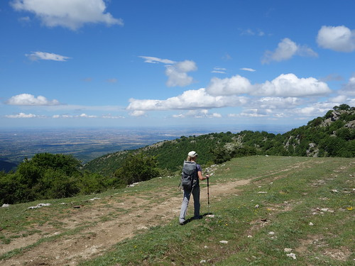 Above the plains of Rome in Monti Prenestini