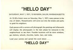 Hello Day, 1971 (Salem State Archives) Tags: salem massachusetts helloday salemcommon burgy zoll keegan salemstate neighbors