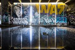 crypt (eb78) Tags: ca california eastbay ue urbex urbanexploration oakland abandoned graffiti oldcrow decay reflection