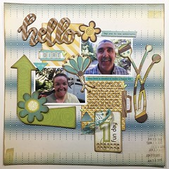 LOAD25 Hello Dirt (girl231t) Tags: 2017 paper layout scrapbook 12x12layout load load25 load517 rsg rsg2 sketch12 sketchbased