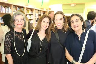 Liana Perez, Alejandra Olea, Mali Parkerson  and Alicia Parkerson at Altamira Libros, Coral Gables