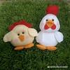 Galinha e Pintinho (mfuxiqueira) Tags: galinha pintinho fazendinha fazenda feltro