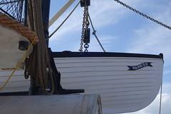 Life boats (koukat) Tags: uk drive portsmouth harbour solent historic dockyard museum navy hms warrior 1860 ship
