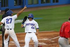 Nelson Maldonado & Austin Langworthy Score (dbadair) Tags: florida gators uf university sec baseball ncaa regionals gainesville 2017 college world series winners first national title omaha