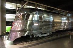 IMG_0738 Burlington Pioneer Zephyr train (kurtsj00) Tags: chicagomuseumofscienceandindustry chicago museum science industry burlington pioneer zephyr train stainless
