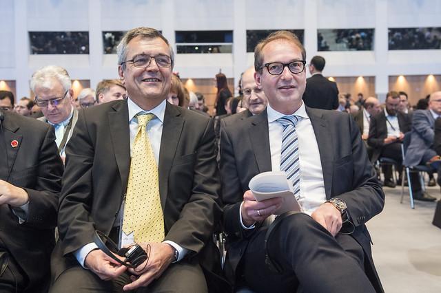 José Viegas and Alexander Dobrindt attending