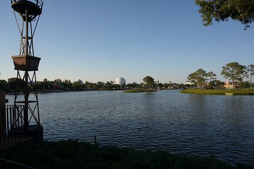 "Epcot: A Look Across the Lagoon • <a style=""font-size:0.8em;"" href=""http://www.flickr.com/photos/28558260@N04/34632429121/"" target=""_blank"">View on Flickr</a>"