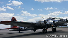 May 21, 2017 - A B-17 on display at Rocky Mountain Regional Airport. (David Canfield)