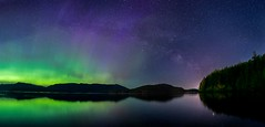 Symphony of Lights   This is a 9shot pano of the amazing aurora show we had on the 27th.    #aurora #northernlights #lights #night #astrophotography #14mm #nikon #acratech #manfrotto #d610 #longexposure #stars #ocean #reflection #beauty (Sacred Frames) Tags: nikon longexposure d610 northernlights aurora ocean beauty manfrotto night 14mm acratech stars reflection astrophotography lights