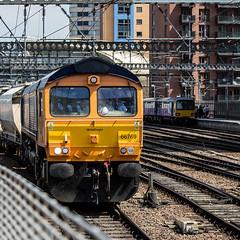 66769 (JOHN BRACE) Tags: 2014 gmemd london canada built co class 66 loco 66769 seen leeds gb railfreight europorte livery 1110 hull dairycoates rylstone stone train passing 1323 running time