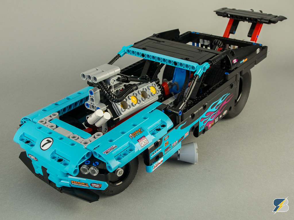 how to make a lego drag racer